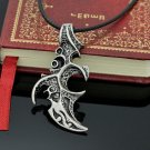 Stainless Steel Flame Necklace Pendant Necklaces Jewelry