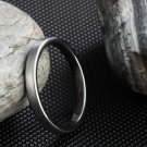 3mm Fashion Rings For Women Silver Vintage Tungsten Rings Anillos Anels For Female Beautiful Wedding