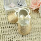2017 Special Offer Real Solid Glitter Baby Girl Shoes Sneaker Anti-slip Princess Soft Sole Toddler F