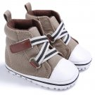 New Infant Toddler Newborn Baby Shoes Kids Classic Sports Sneakers Baby Soft Bottom Anti-slip T-tied