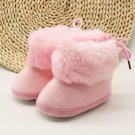 Winter Sweet Warm Newborn Baby Girls Princess Winter Boots First Walkers Soft Soled Infant Toddler K
