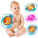 Universal Gyro Bowl 360 Rotate Spill-Proof Baby Feeding Dish Cute Baby Gyro Bowl Children\'s Baby Ta
