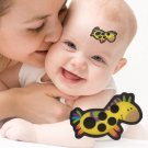 15pcs Baby Cartoon animal Forehead Thermometers Sticker LCD Digital Strip Body Fever Kids Care Therm
