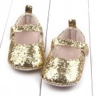 Baby Girl Shoes Hook Toddler Soft Sole Crib Shoes Bling Sequins Baby Shoes Sapato Infantil Menina #1