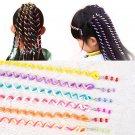 Fashion 6Pcs/1 Set Girls Children Colorful Lovely Hair Accessories Polymer Clay Hair Band Hair Braid