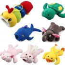 Cute Cartoon Baby feeder Cover storage insulation bags Baby Milk Bottle Plush Pouch Soft Covers Keep