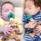 Baby Pacifier Newborn Infant Cartoon Animals Plush Nipple Soother Toys Babys Soother Nipple DogTiger