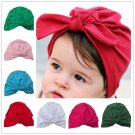 Moeble Olive baby turban hat with bow turbans for tots baby girls bow hats Toddler beanie hat Photog