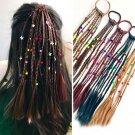 2pc Fashion Children Wig Braids Multi-color Mini Clip Kids Elastics Hair Bands Girl Cute Hair Access