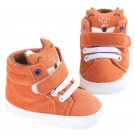 Fashion Newborn Baby Boy Kids Prewalker Shoes Fox Infant Toddler Crib Soft Bottom Anti-slip Sneakers