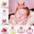 Girl\'s Head Accessories Hairband Baby Shiny Cute Princess Children Tiara Hair Band Headband Kids El