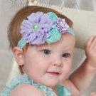JRFSD A New Cute Headband Newborn Flower Hair Bands Kids Flower Crown Hair Accessories for Girls  H0