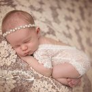 2017 newborn baby lace romper Photography Prop clothes Newborn boy Photo Prop rompers Vintage Newbor