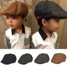 Baby boy hats striped beret newborn photography props spring new arrived baby cap photo props 1-3 ye