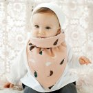 2017 Hot Baby Thick Warm Triangle Scarf Saliva Towel Feeding Bib Toddler Fashion Soft Burp Cloths In