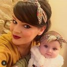 1 Set Mom and Me Headband Hair Band Bow Knot Headbands Newborn Hair Accessories Turban Kids and Momm