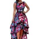 Asym Tiered Women\'s Maxi Dress