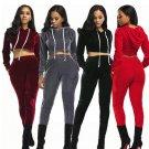 2017 Plus Size Slim Elegant Women Rompers Jumpsuit Winter Velvet Two Pieces Outfits Bodysuit Long Sl