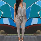 Rompers Women Jumpsuits 2018 Summer Sexy Sleeveless Long Casual Overalls V Neck High Waist Long Play