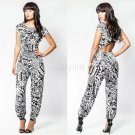 Jumpsuits Plus Size Sexy Women Palazzo Sleeveless jumpsuit Rompers Online One-shoulder jumpsuits for