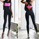 2017 New Fashion Body Women Jumpsuit Sexy Two Color Tight Siamese Pants Hot  Female Clothing Overall