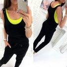 New Fashion Women Casual Sleeveless Bodycon Romper Jumpsuit Club Bodysuit Long Pants