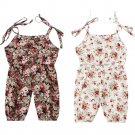 Cute Newborn Baby Girls Clothing Romper Sleeveless Cute Flower Summer Playsuit Outfit Baby Girl Romp