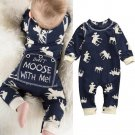 2017 Newborn clothes baby clothing Girls Boys Jumpsuit Spring Autumn infant baby Romper Long sleeve