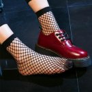 2017 Fashion Dress Black Sexy Fishnet Socks Women Ladies Highly Stretchable Lace Sox Students Funny