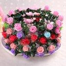 1pcs Flower Bridal Wreath Artificial Flower Head Wreath For Hair Floral Bridal Hair Accessory Weddin