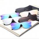 Rimless Square Sunglasses Fashion Women Italy Brand Designer Celebrity Men Oversized Mirror Sun Glas
