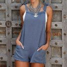 Fashion Bodysuits 2018 Summer Rompers Womens Jumpsuit Sexy Ladies Backless Sleeveless Playsuits Eleg