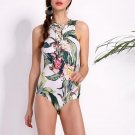 Rompers Womens Jumpsuits 2018 Summer Beach Bodysuit Sexy Ladies Casual Vintage Floral Print Lace Up