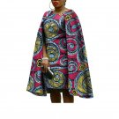 2017 Africa robe africaine plus size women straight dress africa Bazin Riche knee-length dress wax p