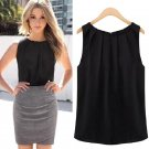 Sexy Fashion Women Summer Loose Sleeveless Casual Tank T Shirt Blouse Tops Vest