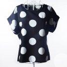 20 Colors Print O-Neck Tropical Chiffon Women Blouses Short Sleeve  Size Summer Shirt Body Blusas Fe