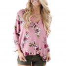 2017 Autumn Fashion High Quality Blouse Women Floral Printing Long Sleeve Tops Shirt Vintage Clothin