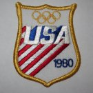 1980 U.S.A. Winter Olympics Cloth Patch
