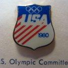 1980 U.S.A. Olympics Lapel Pin