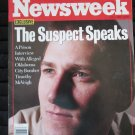 "Newsweek - July 3, 1995:  Timothy McVeigh ""The Suspect Speaks"""