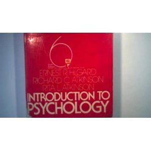 INTRODUCTION TO PSYCHOLOGY ERNEST R. HILGARD