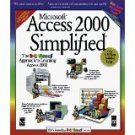 0764560581 Microsoft® Access 2000 Simplified® by Ruth Maran (Aug 1999)