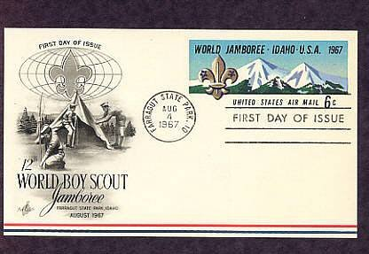 Boy Scout Jamboree, Farragut State Park, First Issue 1967