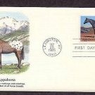 Appaloosa Horse, Lexington, Kentucky First Issue USA