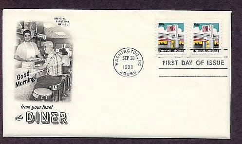 Art Deco American Diner First Issue USA