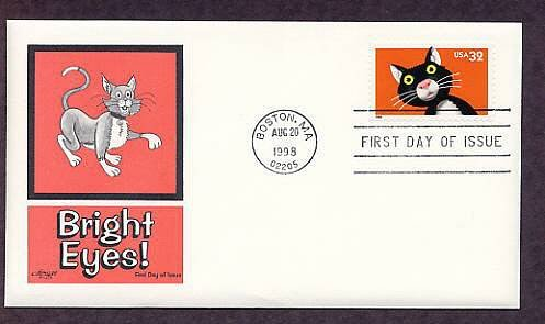 Cats, Bright Eyes, Popular Pets, Kitty First Issue USA