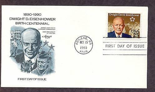 Eisenhower, WWII 5 Star Genera,l President, IKE, First Issue USA       USA