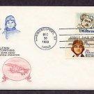 Pilot Blanche Stuart Scott, Glenn Curtiss, Aircraft, Aviation Airmail First Issue USA