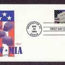POW, MIA, Never Forgotten, Military AM First Issue USA