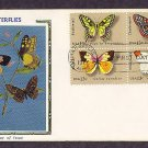 American Butterflies Swallowtail, Checkerspot, Dogface, Orange-Tip, First Issue USA